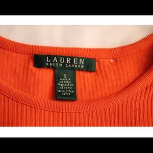 Lauren Ralph Lauren Tops - Ralph Lauren zip shoulder tee(small)